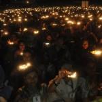 28KIRAN27-CLOSING CEROMONY OF DINGAALESHWAR SWAMI AT NEHARU STADUM