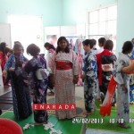 Crowds thronging the Kimono trials at Japan Habba 2013