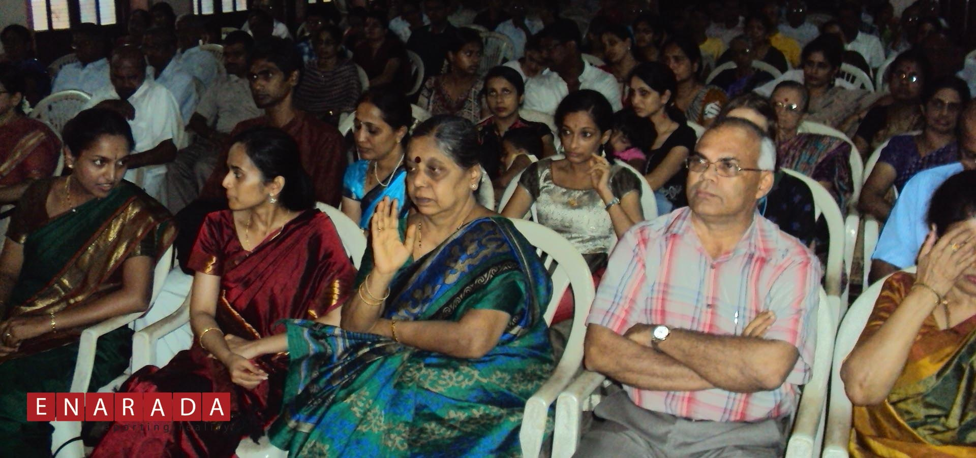 Section of the distinguished audience