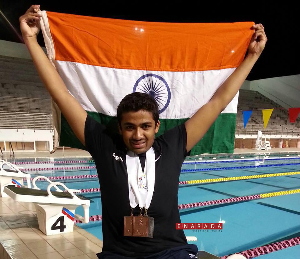 Niranjan at IWAS games