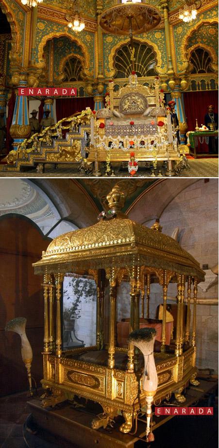 Top Golden Throne Bottom Howdah