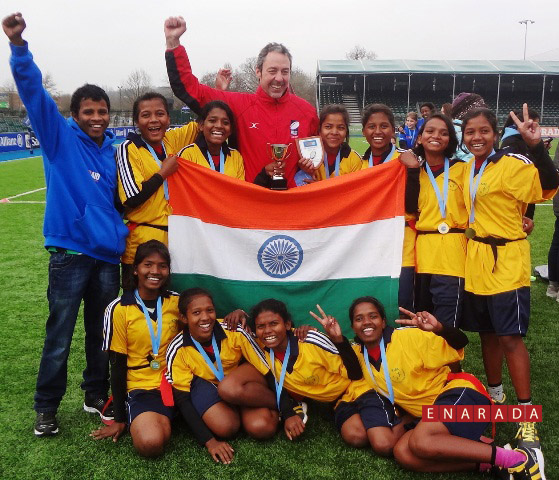 KISS Girls Win Touraid U-13 International Rugby Tourney