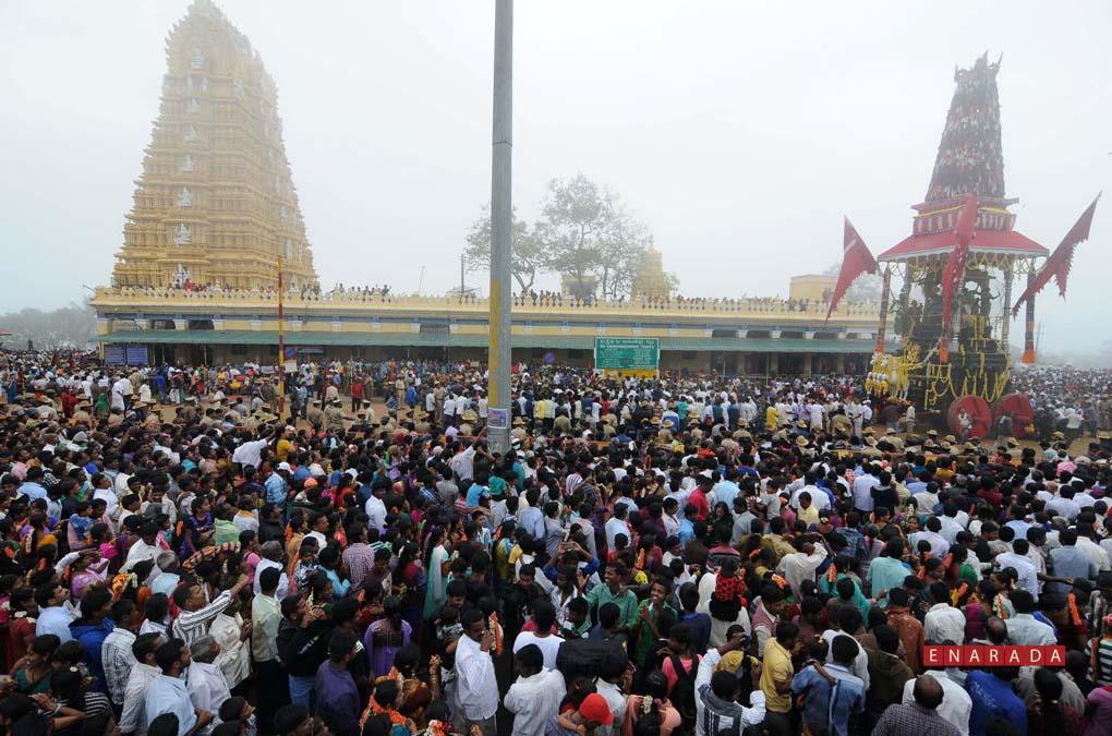 Chamundi Ratha yathra 2014 - Mysore- enarada.com