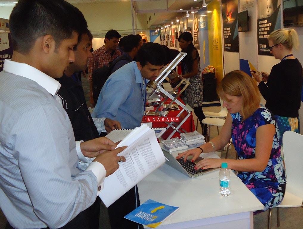 European Higher Education Fair, Bengaluru, Dec 3, 2014 enarada.com