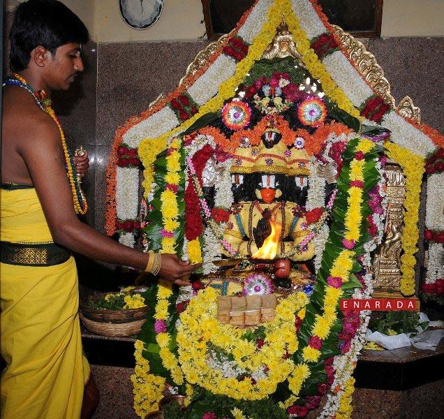 Hanuman pooja, enarada.com