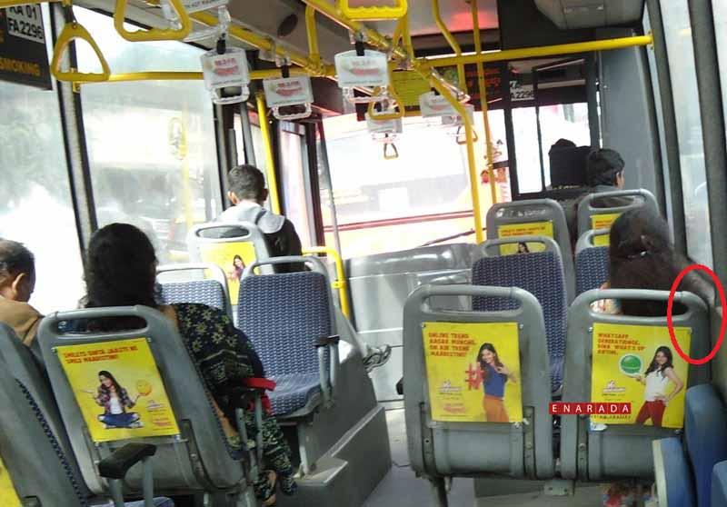 volvo bus making noise, Dec 29, 2014,Ph: Enarada.com