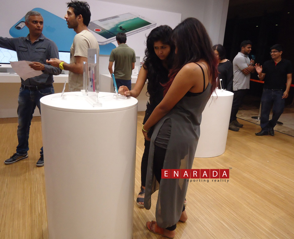 iPhone 6S launch in Bengaluru . 12:01AM October 16, 2015. Ph: WW