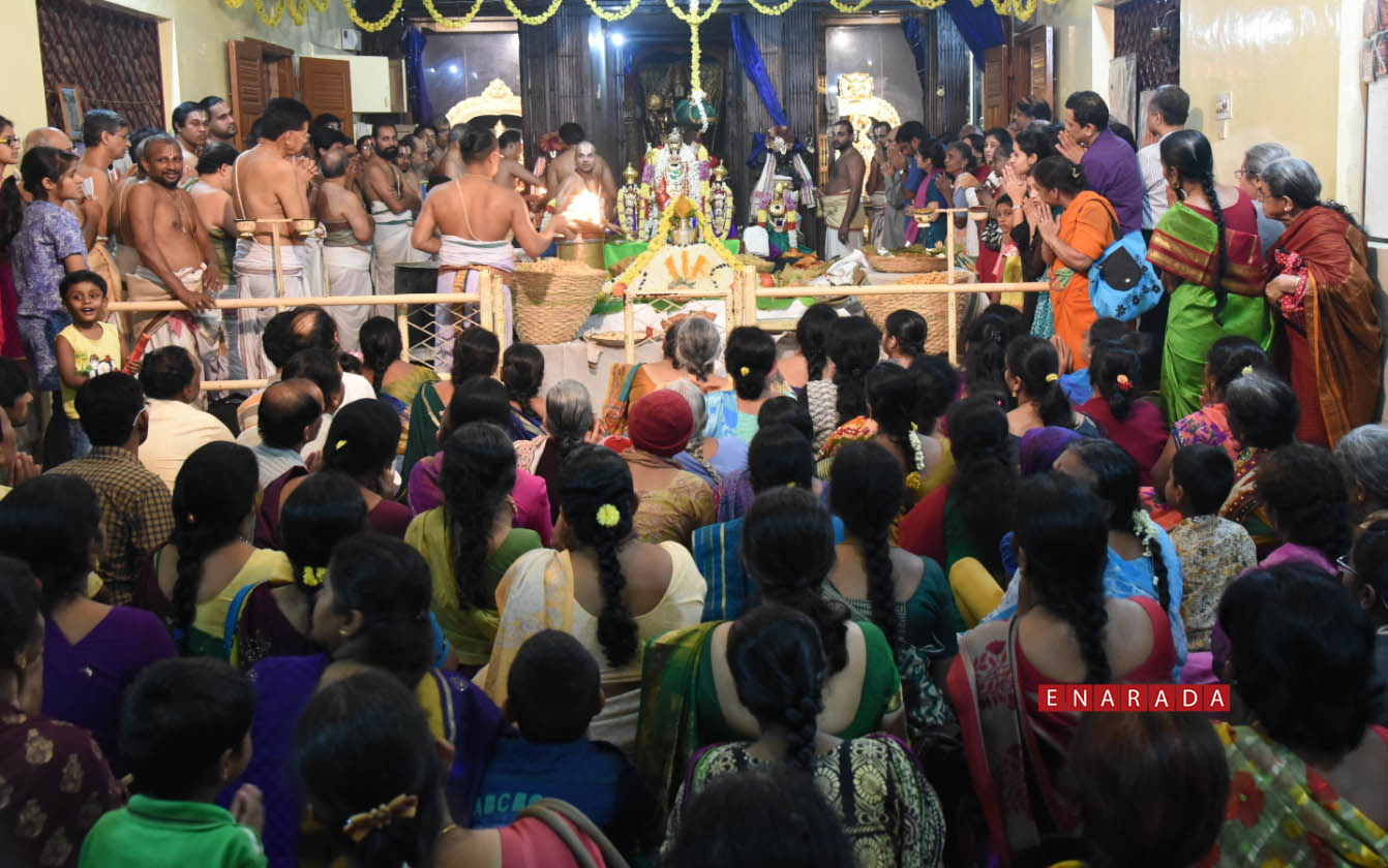 Annakooda uthsavam in Bengaluru. Nov 25, 2015. Photo www.enarada
