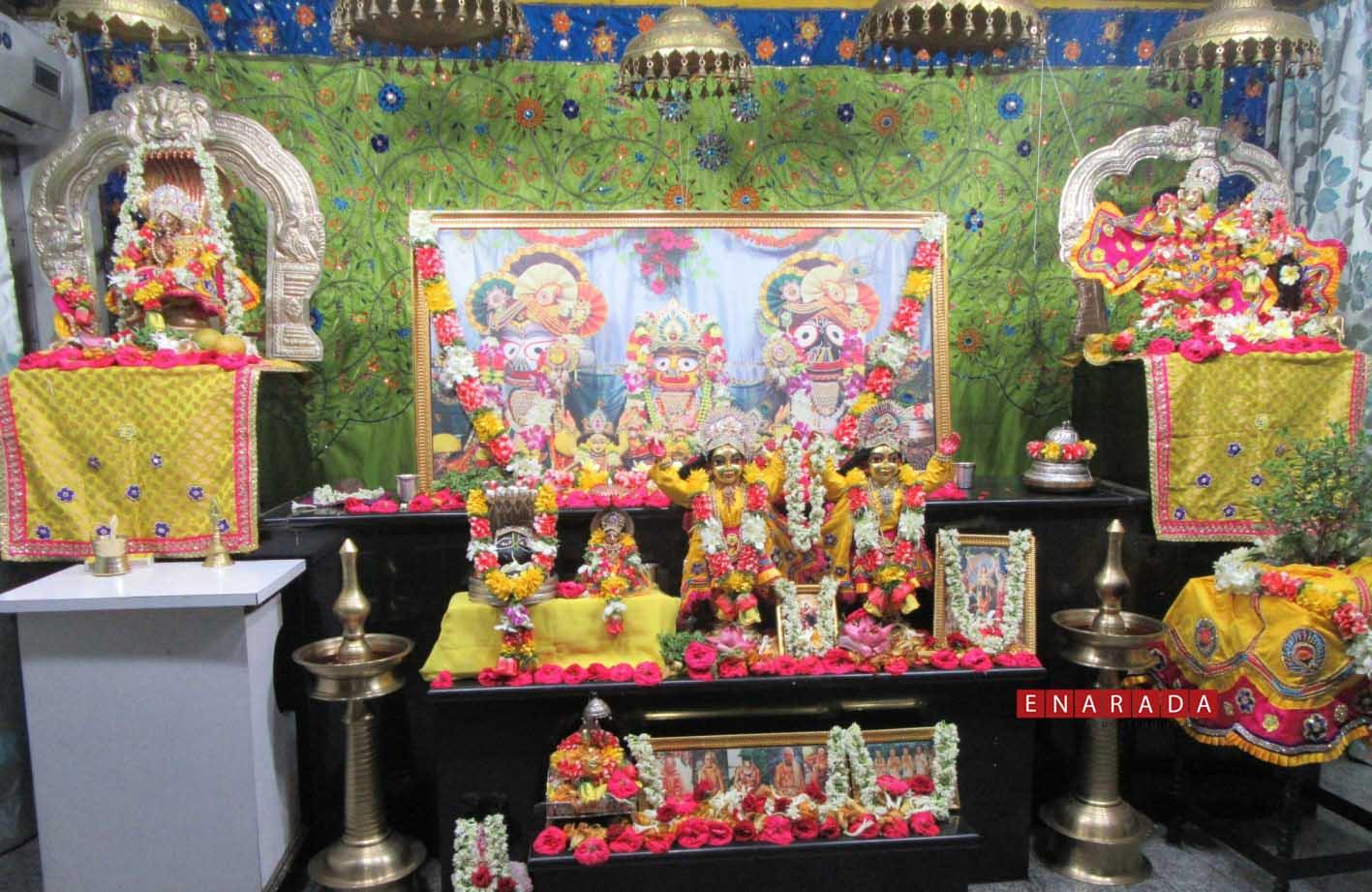 ISKCON Jagannath temple, Bengaluru. Photo: www.enarada.com