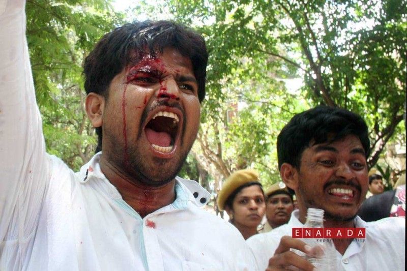 "Bengaluru's ""broken peace"""