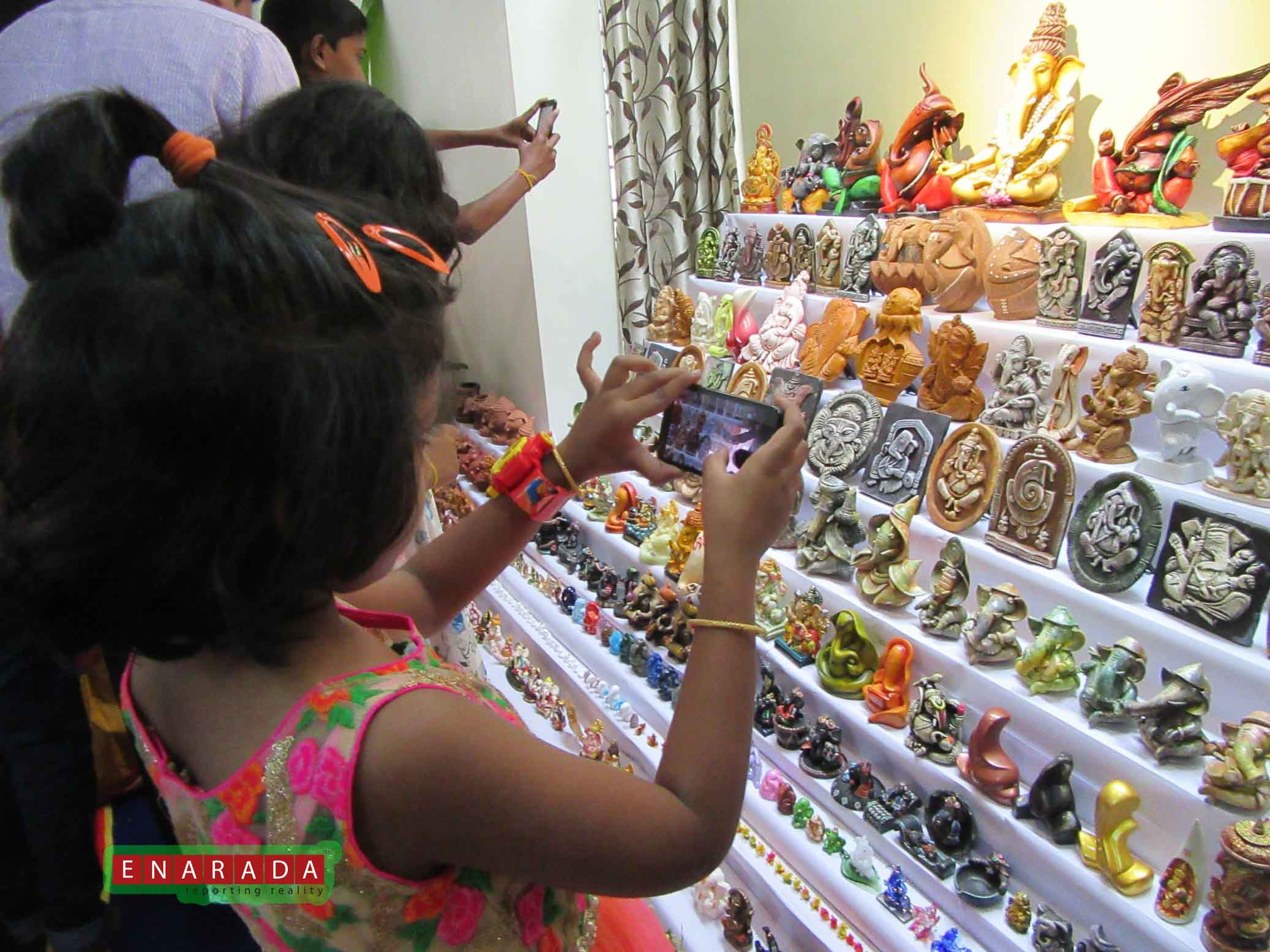 Ganesha Idols collection. eNarada Pic