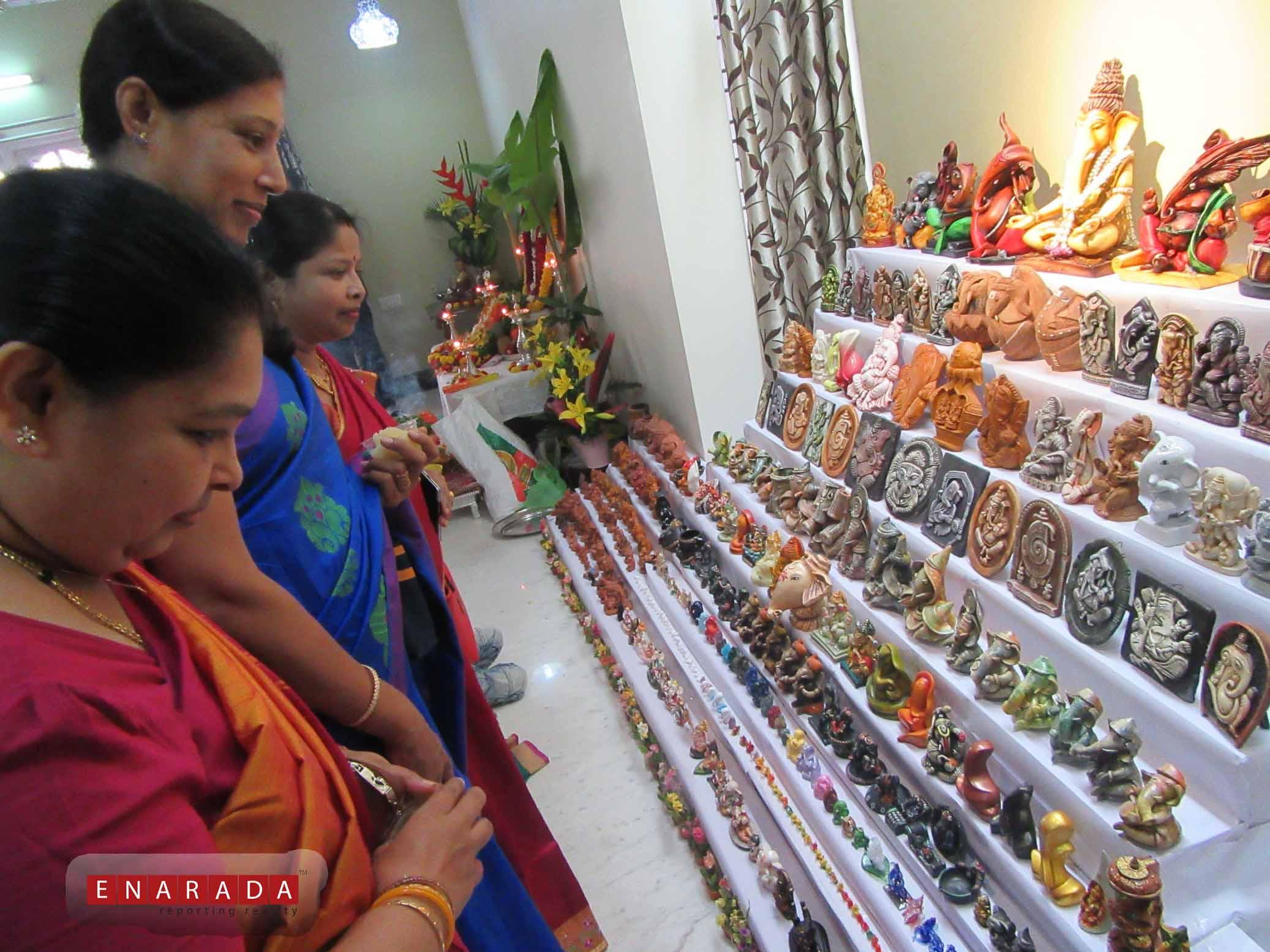 Ganesha Idols. eNarada Pic