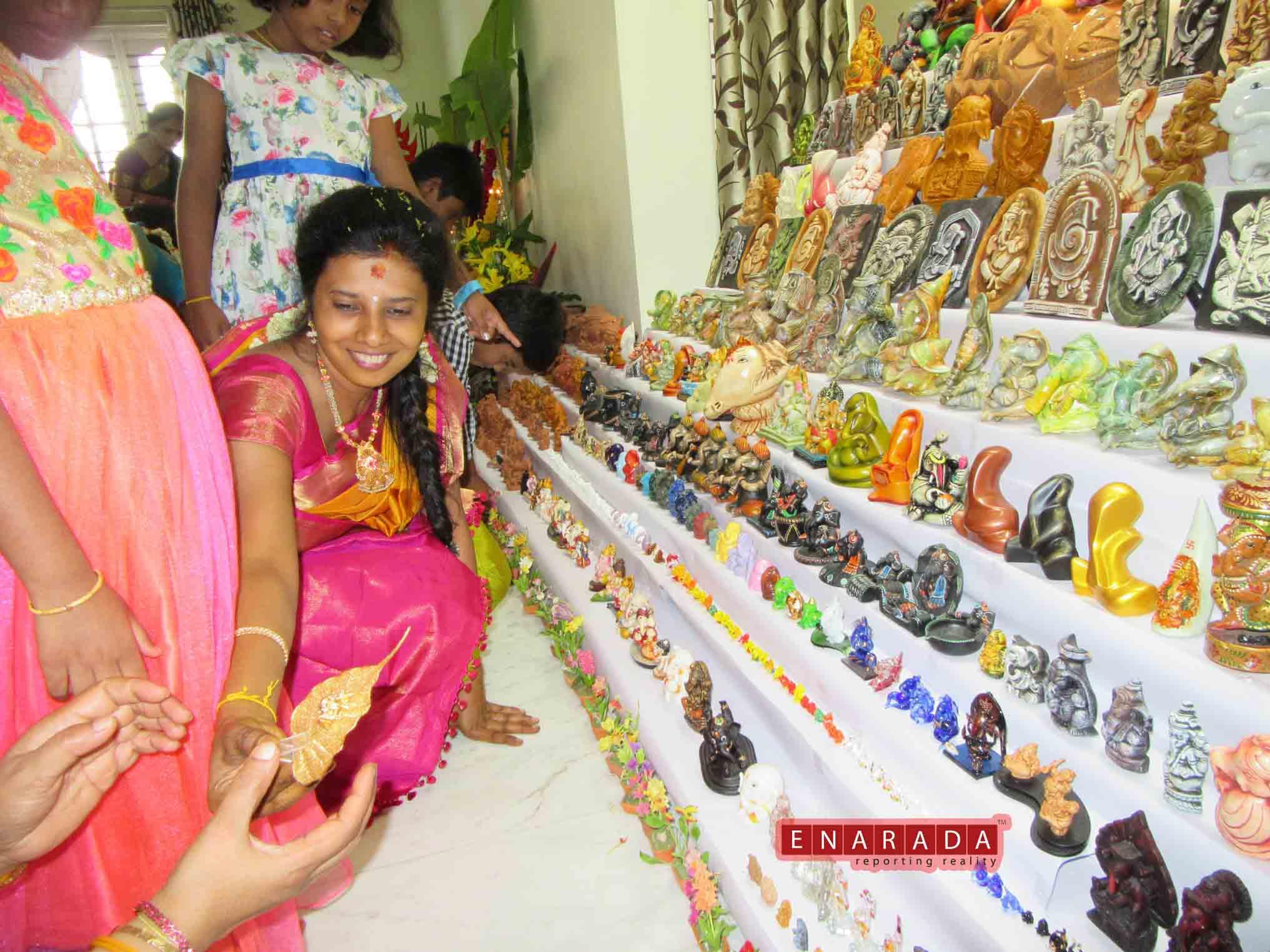 A Unique Ganesha Idols. eNarada Pictures