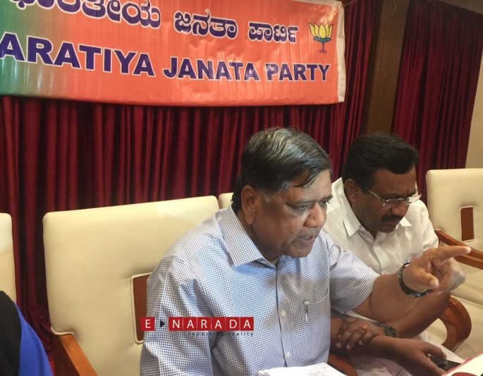 BJP affirms Housing  and Sand scams in Karnataka