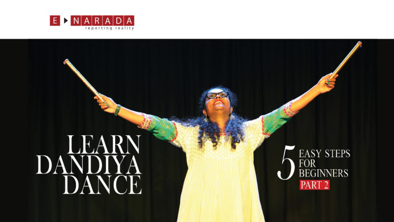 Learn Dandiya Raas and Garba dance in simple steps